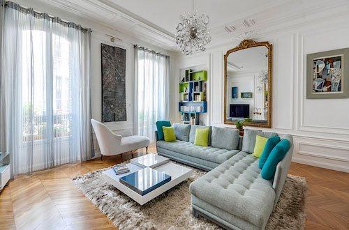 Photo d'appartement d'un salon design